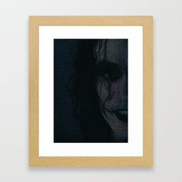 The Crow Screenplay Print Framed Art Print