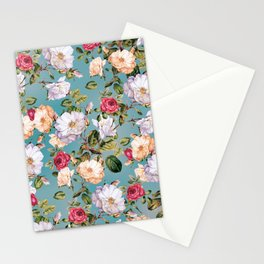 flowers pattern 2a Stationery Cards