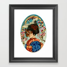 The Exploitation of Butterfly Framed Art Print