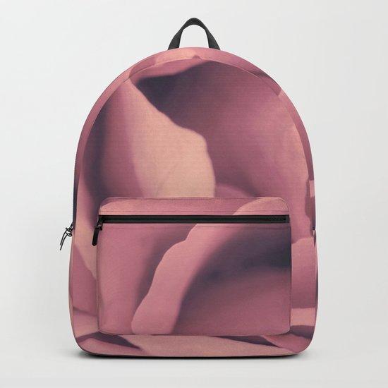 Pink Rose´s heart - roses Backpack