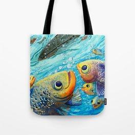 Thanks Fish Tote Bag