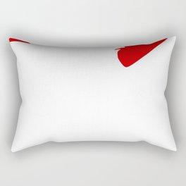 I Love Bulldogs Rectangular Pillow