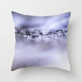 ICE CRACK. Throw Pillow