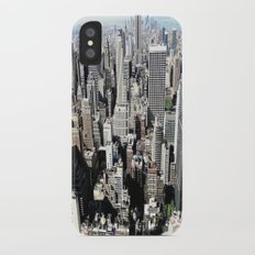 Concrete Jungle iPhone X Slim Case