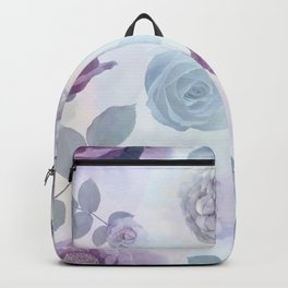 seamless   pattern with roses . Endless texture Backpack