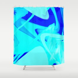 Aqua State Shower Curtain