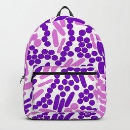 Gram Stain Pattern Backpack