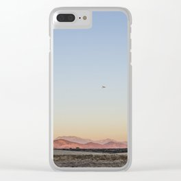 Fly High I Clear iPhone Case