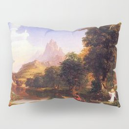 Voyage of Life: No. 2 of 4 Youth by Thomas Cole Pillow Sham