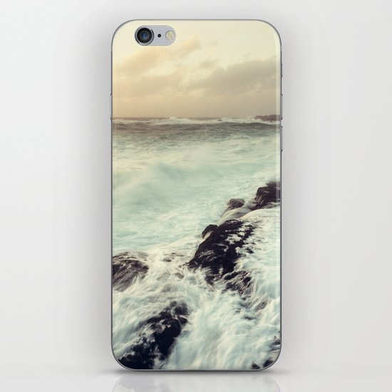 Washed in Surf iPhone Skin