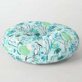 Finally Easter! [blue'n rose] Floor Pillow