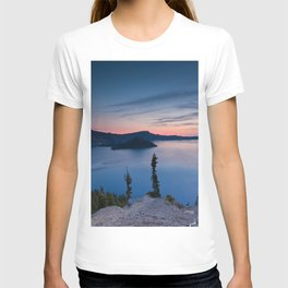 Sunrise At Crater Lake T-shirt