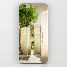 Through the Green Gate iPhone & iPod Skin