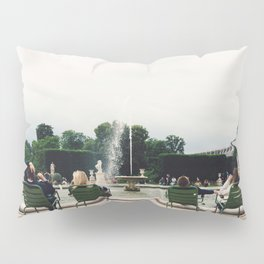 Fountain at Jardin de Tuileries, Paris, France Pillow Sham