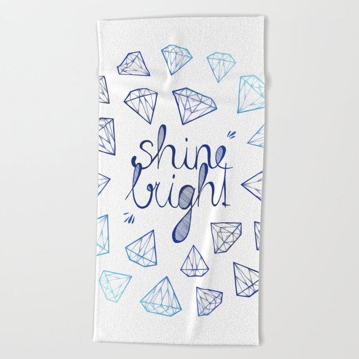 Shine Bright Beach Towel