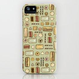 cookies green iPhone Case