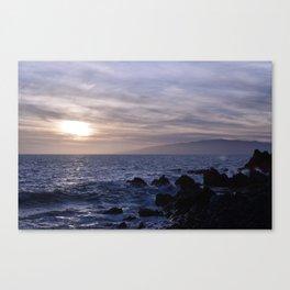 Primo giorno. Primo tramonto. Canvas Print