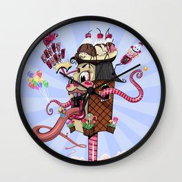 The Candy Shoppe Wall Clock
