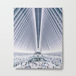 Oculus / World Trade Center Station Metal Print
