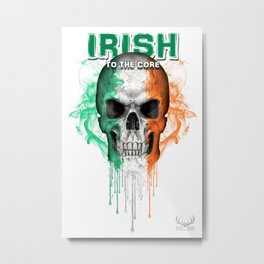 To The Core Collection: Ireland Metal Print