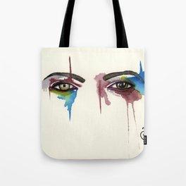 David Bowie Eyes Tote Bag