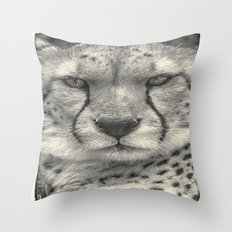 The Cheetah Throw Pillow