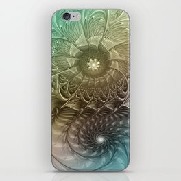 Togetherness, Fractal Art Abstract iPhone Skin