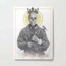 Felon's Wage ≠ Felon's Gift Metal Print