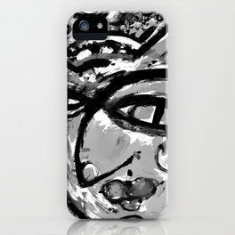 Wiggle Snickle Doodley Doo 1a by Kathy Morton Stanion iPhone Case