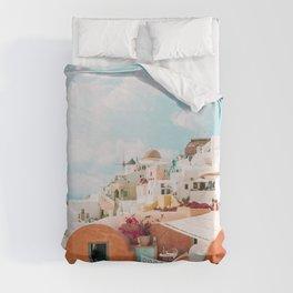 Santorini Glance Duvet Cover