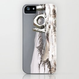 Christmas card The men-an-Tol iPhone Case