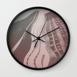 City 2 Wall Clock