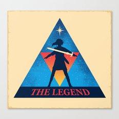 The Legend... Canvas Print