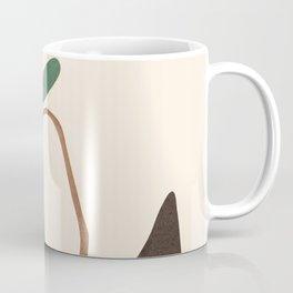 Minimal New Leaf Coffee Mug