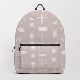 Geometric pattern pink Backpack