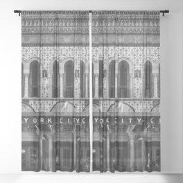 New York City Center. Sheer Curtain