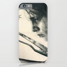 Edward Scissorhands ~ Johnny Depp Traditional Portrait Print Slim Case iPhone 6s