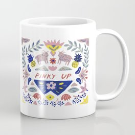 Pinky Up Coffee Mug