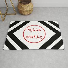 hello world 7 Rug