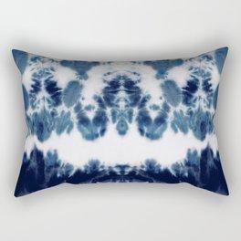 Shibori Not Sorry Rectangular Pillow