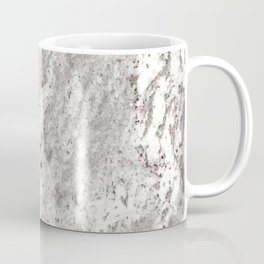 Milky Gray // Red Speckled River Of Marble Natural Stones Rock Textures Coffee Mug