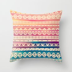 SURF TRIBAL II Throw Pillow