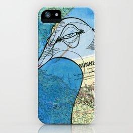 Minnesota Loony iPhone Case