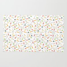 For the love of stationery  Rug