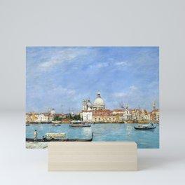 Eugène Louis Boudin Venice, Santa Maria della Salute from San Giorgio Mini Art Print