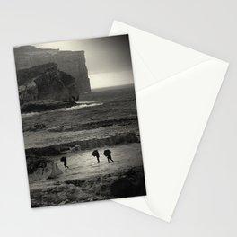 ... three umbrelas Stationery Cards
