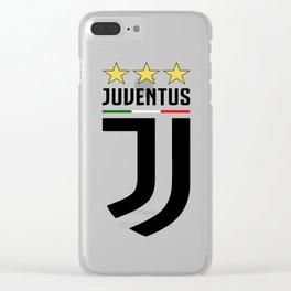 Juventus Logo Clear iPhone Case