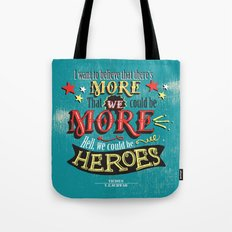 Vicious by V.E.Schwab - We Could Be Heroes Tote Bag