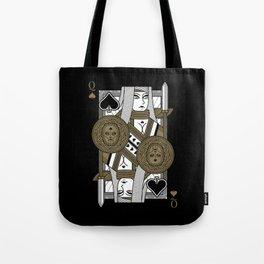 Omnia Suprema Queen of Spades Tote Bag