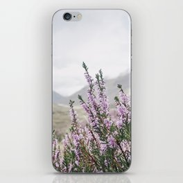 Heather in Glencoe iPhone Skin